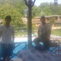 Снимок сделан в Sındırgı Emendere Resort Hotel пользователем Ismail U. 6/26/2014
