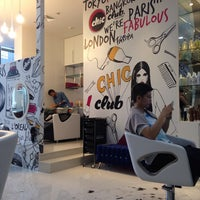 Photo taken at Chic Club Hair Studio by Han D. on 6/28/2014