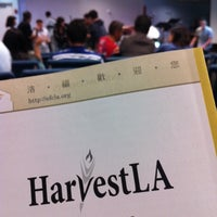 Photo taken at HarvestLA by David C. on 10/20/2013