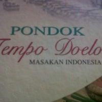 Photo taken at Pondok tempo doeloe by Andarina D. on 12/19/2012