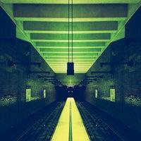 Photo taken at Van Ness MUNI Metro Station by Jacob S. on 12/17/2012