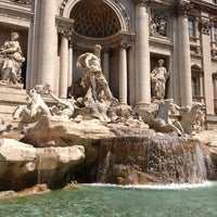 Photo taken at Trevi Fountain by Clau L. on 7/17/2013