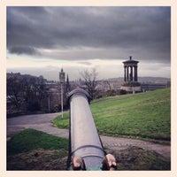Photo taken at Portuguese cannon by Joe N. on 1/27/2014