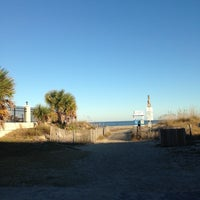 Photo taken at Tybee Curve Beach by Scot G. on 11/22/2012