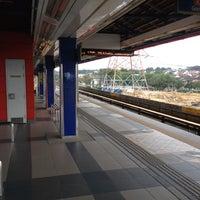 Photo taken at RapidKL Kelana Jaya (KJ24) LRT Station by Nabel T. on 1/10/2013
