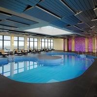 Das Foto wurde bei Sheraton Munich Arabellapark Hotel von Sascha R. am 1/13/2014 aufgenommen
