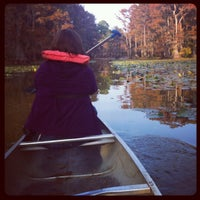 Photo taken at Caddo Lake State Park by Nichole H. on 11/5/2012
