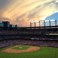 Photo taken at Coors Field by Sarah L. on 6/16/2013