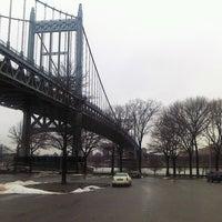 Photo taken at Astoria Park Parking Lot by Steven B. on 1/11/2014