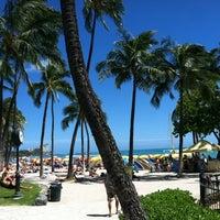 Photo taken at Waikīkī Beach by Ken S. on 7/22/2013