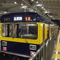Photo taken at 東急池上線3号車 by hiro n. on 3/29/2016