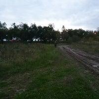 Photo taken at трасса для мото квадроциклы by Александр Ш. on 9/22/2013