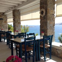 Photo taken at Mykonos Thea Hotel by Athanasios P. on 6/13/2015