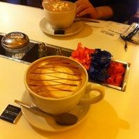 Photo taken at Lemon Crepe & Coffee Company by Alison O. on 10/1/2013