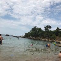 Photo taken at Kapri Plajı by Songül C. on 8/18/2018