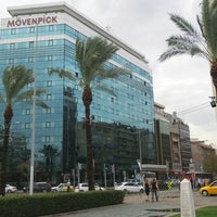Photo taken at Mövenpick Hotel Izmir by Mustafa Y. on 10/2/2013