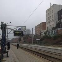 Photo taken at Gare d'Etterbeek / Station Etterbeek by Abigail V. on 2/26/2013