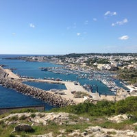 Photo taken at Porto di Leuca by Tedi K. on 10/12/2016