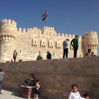 Photo taken at Citadel of Qaitbay by Khaled L. on 10/17/2013