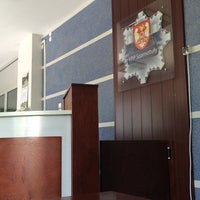 Photo taken at Komenda Powiatowa Policji by Robert P. on 6/9/2014