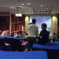 Photo taken at MAHSA Auditorium by Harith E. on 10/7/2013