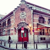 3/22/2013 tarihinde Merve İ.ziyaretçi tarafından Place Saint-Géry / Sint-Goriksplein'de çekilen fotoğraf