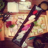 Photo taken at Yami Sushi House by Merve İ. on 7/7/2013