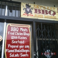 Photo taken at Lets Eat BBQ by Greg G. on 10/14/2012