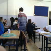 Photo taken at Gazi Anadolu Lisesi by Beste C. on 10/8/2013
