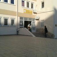Photo taken at Gazi Anadolu Lisesi by Beste C. on 11/1/2013
