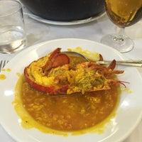 Photo taken at Carlos Tartiere Restaurante Sidrería by Ernesto P. on 7/3/2016