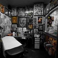 Photo taken at Guru Tattoo by Guru Tattoo on 9/21/2013