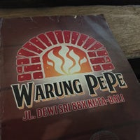 Photo taken at Warung PePe Wood Fired Pizza & Pasta by Cut Nyak O. on 6/3/2016