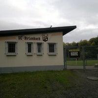 Photo taken at Sportplatz by Stefan J. on 10/9/2013