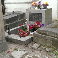 Photo prise au Tombe de Jim Morrison par Denis H. le4/5/2014