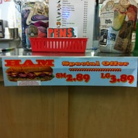 Photo taken at Thundercloud Subs by Jefferson B. on 10/2/2012