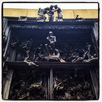 Photo taken at Rodin Sculpture Garden by Omar S. on 7/17/2013