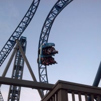 Photo taken at Iron Shark Rollercoaster by David L. on 1/27/2013