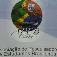 Photo taken at APEB - Associação de Pesquisadores e Estudantes Brasileiros em Coimbra by Louise A. on 6/5/2013