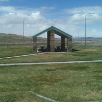 Photo taken at Grassy Mountain Rest Area (Eastbound I-80) by Daniel J. on 4/9/2013