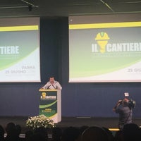 Photo taken at Centro Congressi Parma by Gianni F. on 6/25/2016