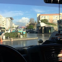 Photo taken at Karşıyaka Dolmuş Durakları by İsmail A. on 12/18/2014