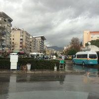 Photo taken at Karşıyaka Dolmuş Durakları by İsmail A. on 12/29/2014