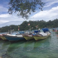 Photo taken at Pantai Sendang Biru by Syera on 2/13/2017