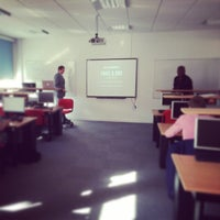 Photo taken at University of Bedfordshire - Business School by Ben H. on 4/16/2014