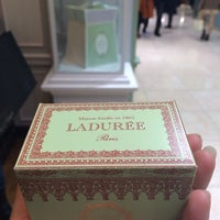 Photo taken at Ladurée by Joom &. on 12/19/2013