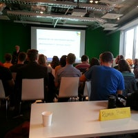 Photo taken at Hypermedia Isobar by Tommy O. on 10/28/2013
