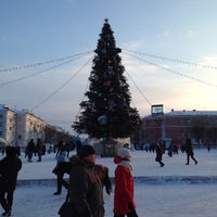 Photo taken at Площадь Юности by Дмитрий З. on 1/2/2014