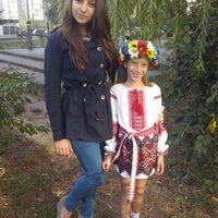 Photo taken at Деснянка школа-сад by Оксана М. on 9/1/2014