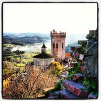 Photo taken at Rocca di Federico II by VisitPisa on 2/23/2014